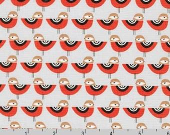 Suzy's Minis - Birds Grey by Suzy Ultman from Robert Kaufman