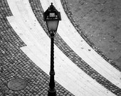 Budapest, Hungary, Black and White, Architecture Photography, Streetlight
