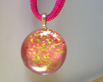 Summerwear Glass Pendant - Casual Fun Jewelry