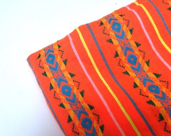 Three Yards - Orange Mexican Fabric