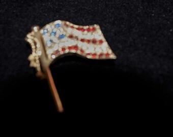 Vintage Flag Pin