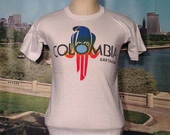 1970's-1980's Colombia t-shirt, small