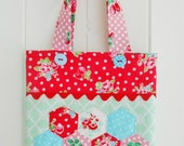 Summer Themed Little Tote Bag