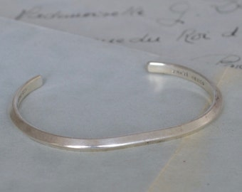 Mexican Sterling Spacer Cuff Bracelet