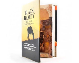 Secret Compartment Book - Black Beauty - Gift for Horse Lover