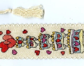Michael Powell Counted Cross Stitch Bookmark Kits in a Variety of Designs