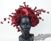 Red Flower Headdress