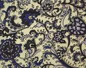 C2044A - 145cmx100cm Cotton Fabric - Flower (purple)