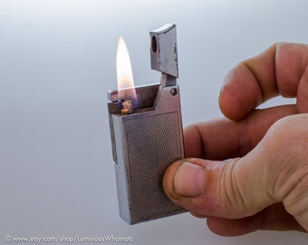 Working 1950s Swiss Robby Roller Type Pocket Lighter