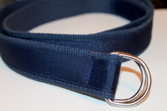 navy ribbon belt blue belt 1 25 wide navy by cinchbelts