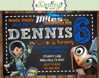 Miles from Tomorrowland Invitation (TL01)