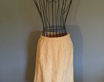 Vintage Wool Skirt, size Small