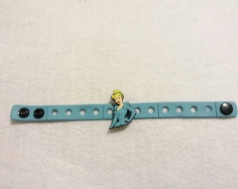 10 Cinderella  Silicone Bracelets Party Favors