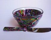 Appetizer Serving Set-Colorful Confetti