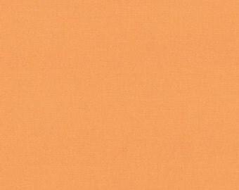 Orange Solid Fabric - Amelia Apricot Bella Solids by Moda - 1/2 Yard