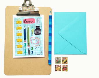 Office Supplies- blank note card