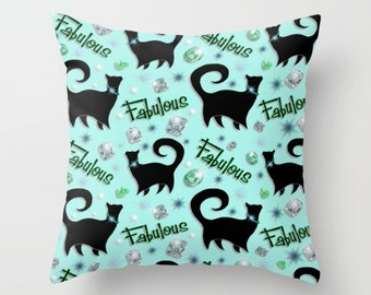 FABULOUS CATS - Limited Edition Designer Pillow Cover