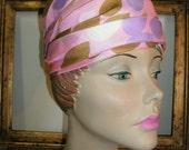 30% OFF SALE Vintage 1960's Joseph Magnin Pink Hat