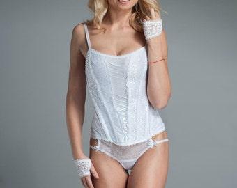 Ruffle Bridal Panty - Bridal Lingerie - Bridal Underwear