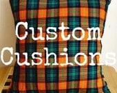 Custom Cushions Order // Lacey