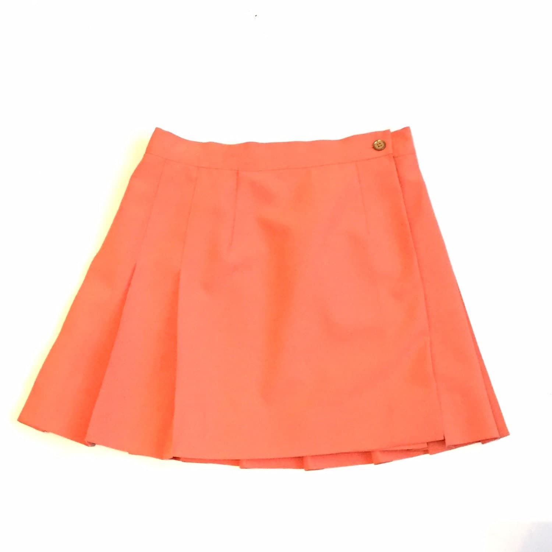 90 s pastel pleated tennis skirt