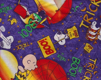 5/8 yard of Halloween Fabric
