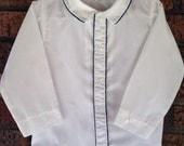 Vintage White 3T button up dress shirt