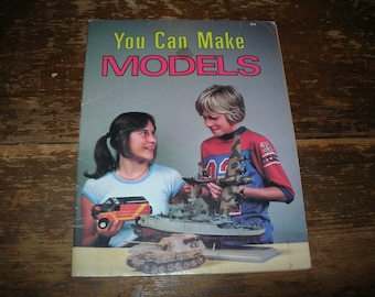 Children's Book: You Can Make Models ***Adorable***
