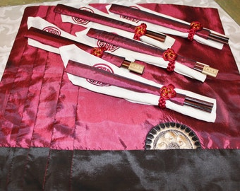 Asian Dinner - Chopsticks - Placemats Napkins - Napkin Rings