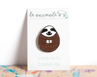 Sloths Sloth Pin Cute Enamel Pins