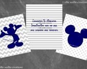 Mickey Mouse Decor   Set of 3   8x10