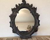Vintage Art Nouveau Mirror