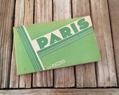 Antique Art Deco Paris Postcard Book Par Patras