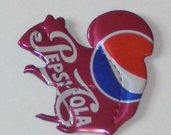 SQUIRREL Magnet - Cherry Pepsi Cola Soda Can
