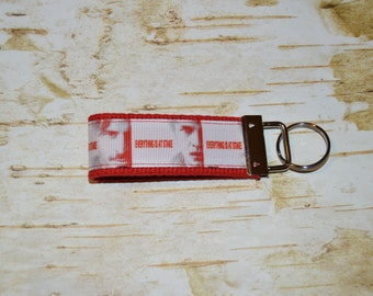 RTS - True Blood inspired key chain - ready to ship - stocking stuffer