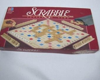 Scrabble Game 1989 #062416 B