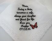 Embroidered Wedding Handk...