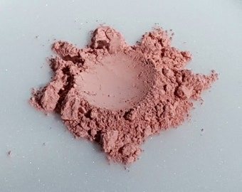 Natural Makeup, Mineral Powder Blush, Matte Loose Powder, Sweet Pink