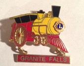 Vintage granite falls pin