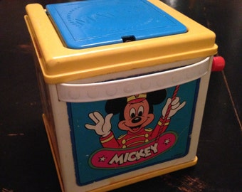 Vintage Mickey jack in the box