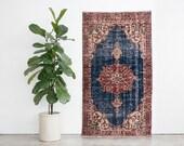 3x7 Hand Knotted Turkish Anadol Wool Rug