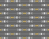 Four Corners Gray & Metallic Gold Sparkles Stripes from Riley Blake's Four Corner Collection
