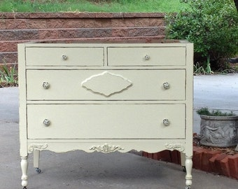 ON SALE Antique Bath VANITY From Dresser! Custom Order In Your Size, Color and Style! Antique Bathroom Vanity Single or Double Sink