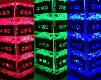 Color-changing Cassette Tape Lamp Mixtape Light Party Light