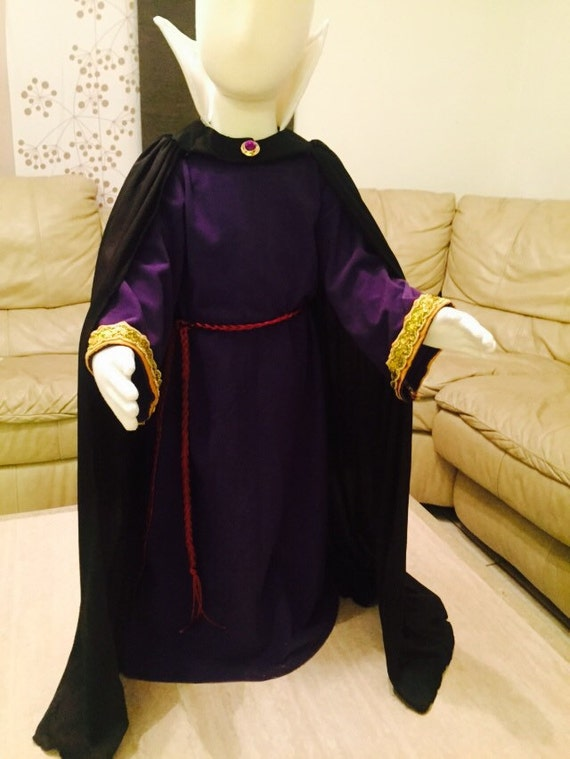 Evil Queen Costume Snow White Witch Little Girl By & Girls White Witch Costume - Meningrey