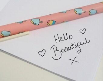 Colourful Ice Lolly Gel Pen