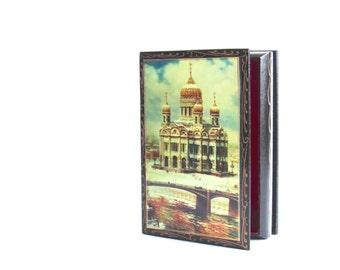 Vintage Trinket Box - Jewelry Box - Minarets - Dresser Valet - Storage - Cigarette Box - Desk Accessory - Home Decor