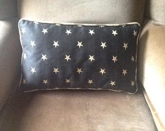 SMALL Elegant star pillow