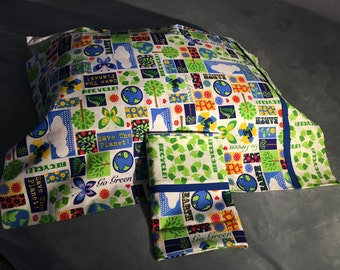 Recycling Pillowcase