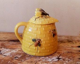 Vintage Bee Hive Jar